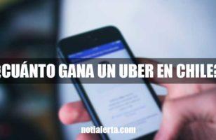 Cuánto gana un conductor de Uber en Chile