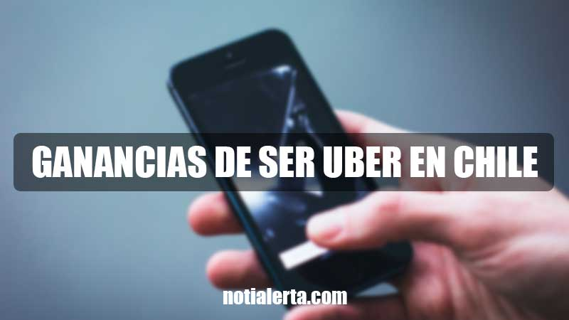 Ganancias conductor Uber en Chile