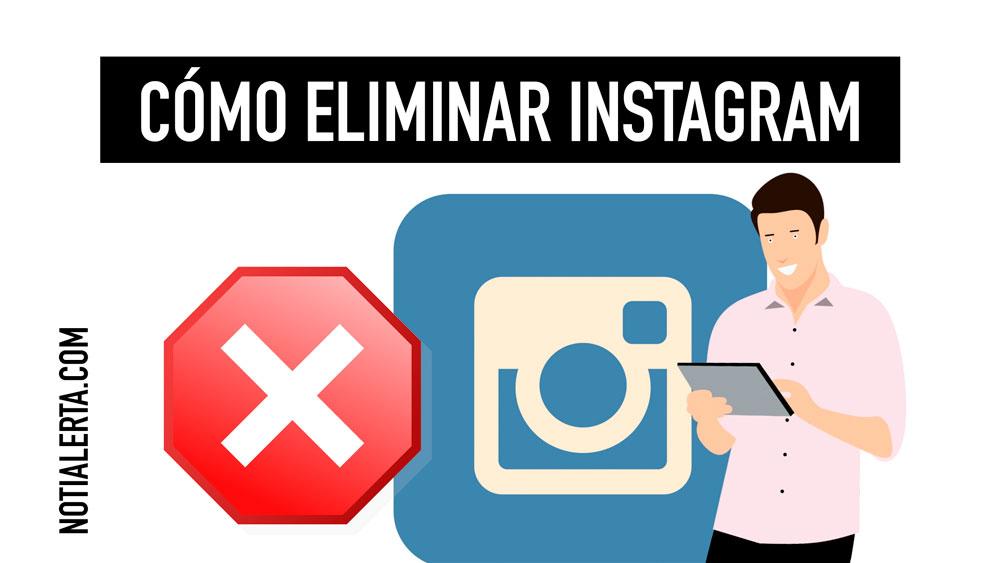 cómo eliminar Instagram definitivamente paso a paso