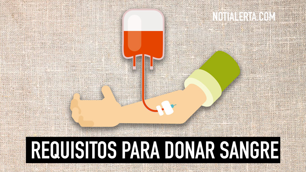 Requisitos para donar sangre en Chile