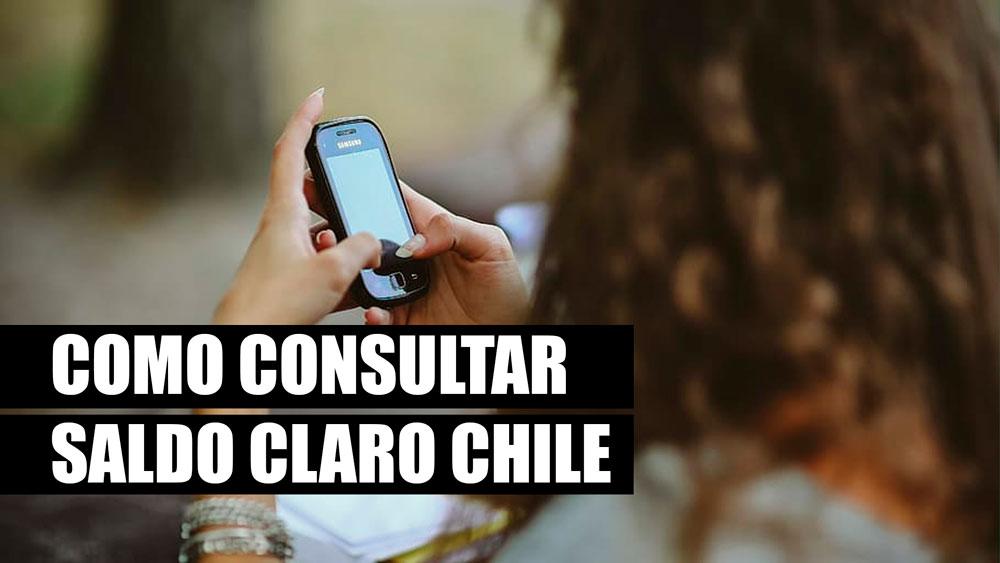Cómo consultar el saldo en Claro Chile